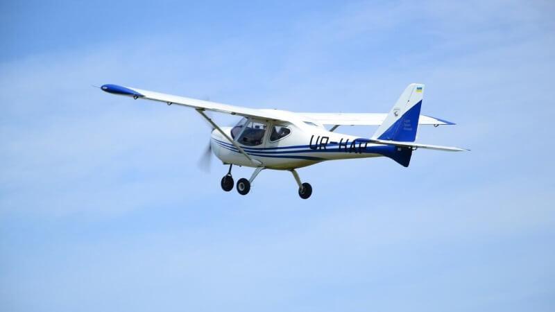 K-10 політ на літаку Цунів 4