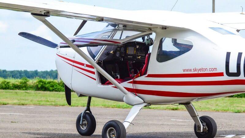 K-10 політ на літаку Цунів